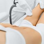 female laser hair removal body
